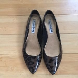 AMERICAN EAGLE Cheetah Leopard Print Flats 11